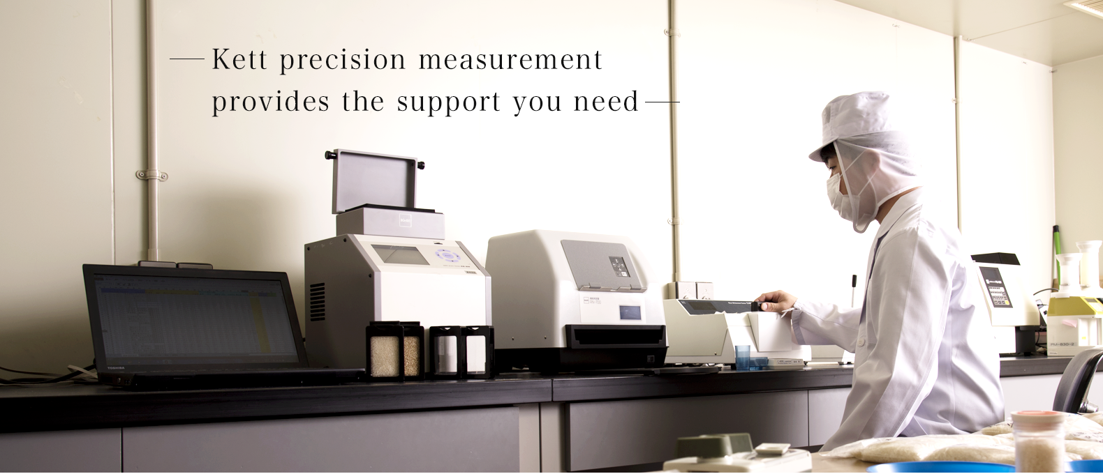 Kett precision measurement provides the support you need.