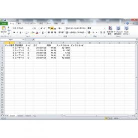 データ管理ソフトウェア データロガー HDL-01