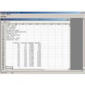 データ管理ソフトウェア データロガー KDL-01